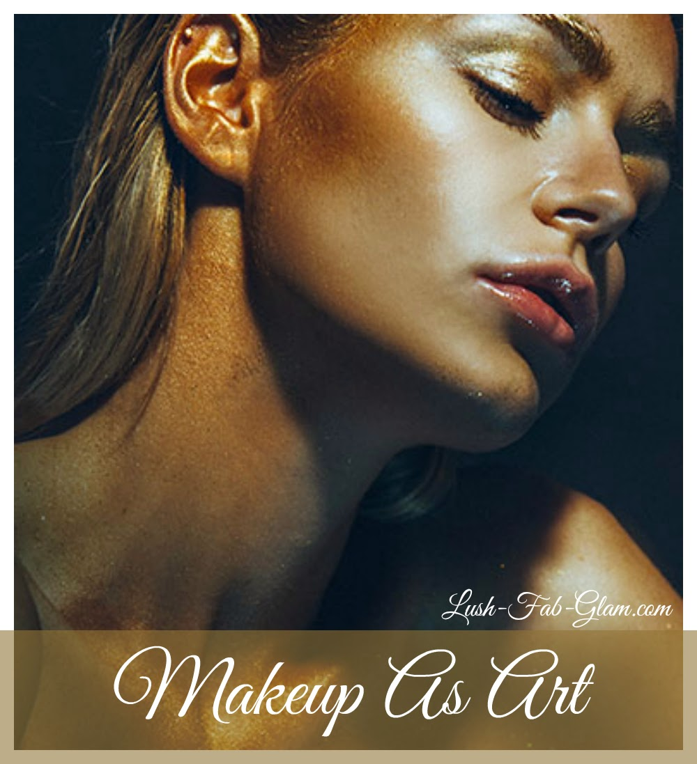 Spoltight on makeup as art and the wonders of airbrushing.