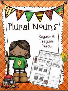 http://www.teacherspayteachers.com/Product/Plural-Nouns-For-Fall-Regular-Irregular-1457134