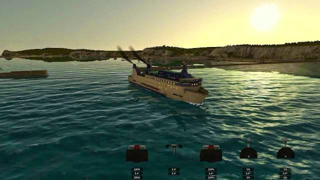 European Ship Simulator PC Games Gameplay