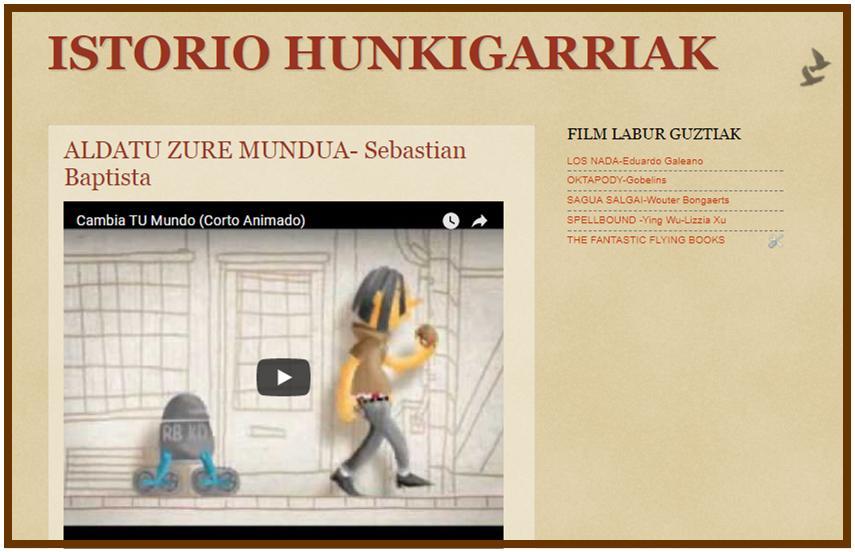 ISTORIO HUNKIGARRIAK