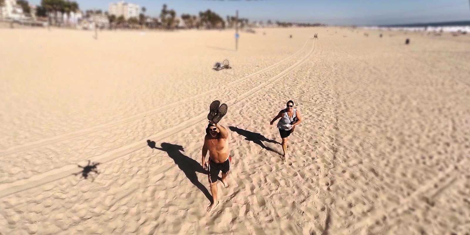 Sunbather On California Beach Takes Down Drone By Throwing T Shirt At It Is Jailed For Vandalism