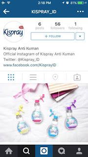 Info Kuis - Kuis Instagram Kispray Berhadiah Pulsa Senilai Total 500K
