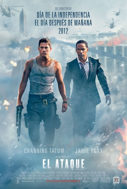 Sony-Pictures-Presenta-EL-ATAQUE-WHITE HOUSE-DOWN