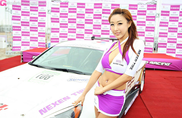 1 Jang Yoo Seul - Nexen Speed Racing-very cute asian girl-girlcute4u.blogspot.com