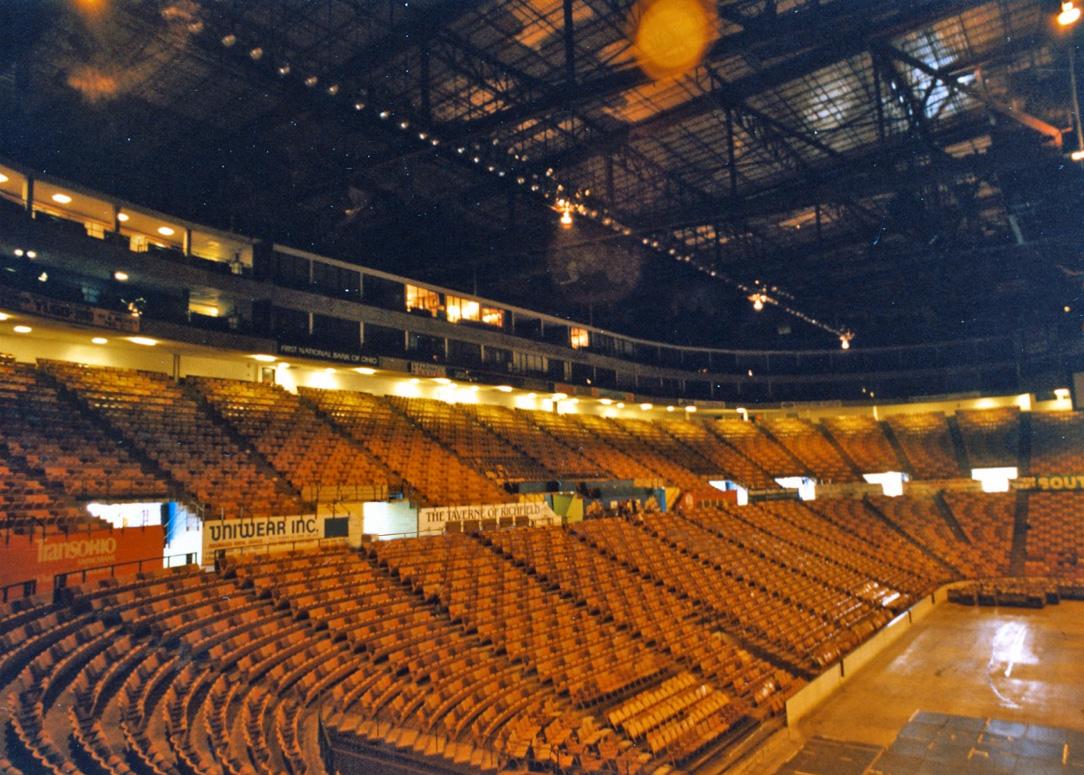 #25: Richfield Coliseum, Peninsula, OH | Scolin's Sports ...