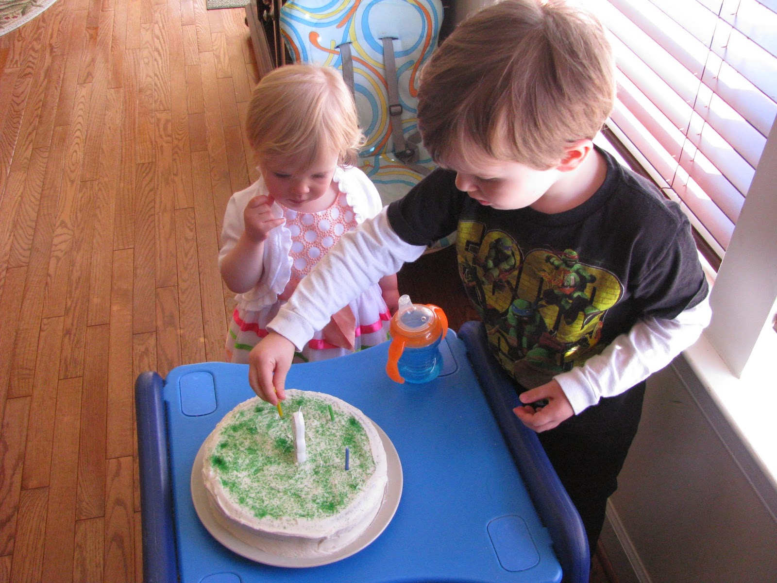 egg free, dairy free birthday cake