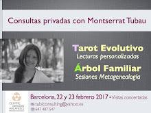 ¡FEBRERO 2017! Montserrat Tubau en BARCELONA