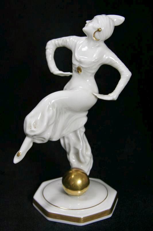art nouveau porcelain