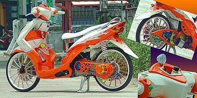 Modifikasi Yamaha Mio 2011