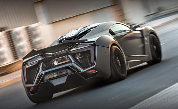 Lykan Hypersport vedeta Furious7