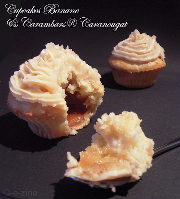 cupcakes banane caranougat carambar