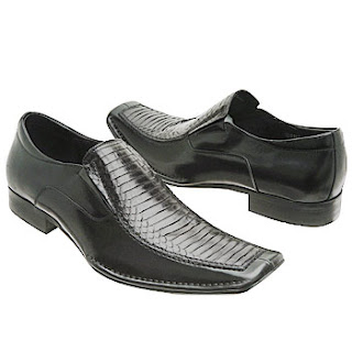 zapatos comercial negro