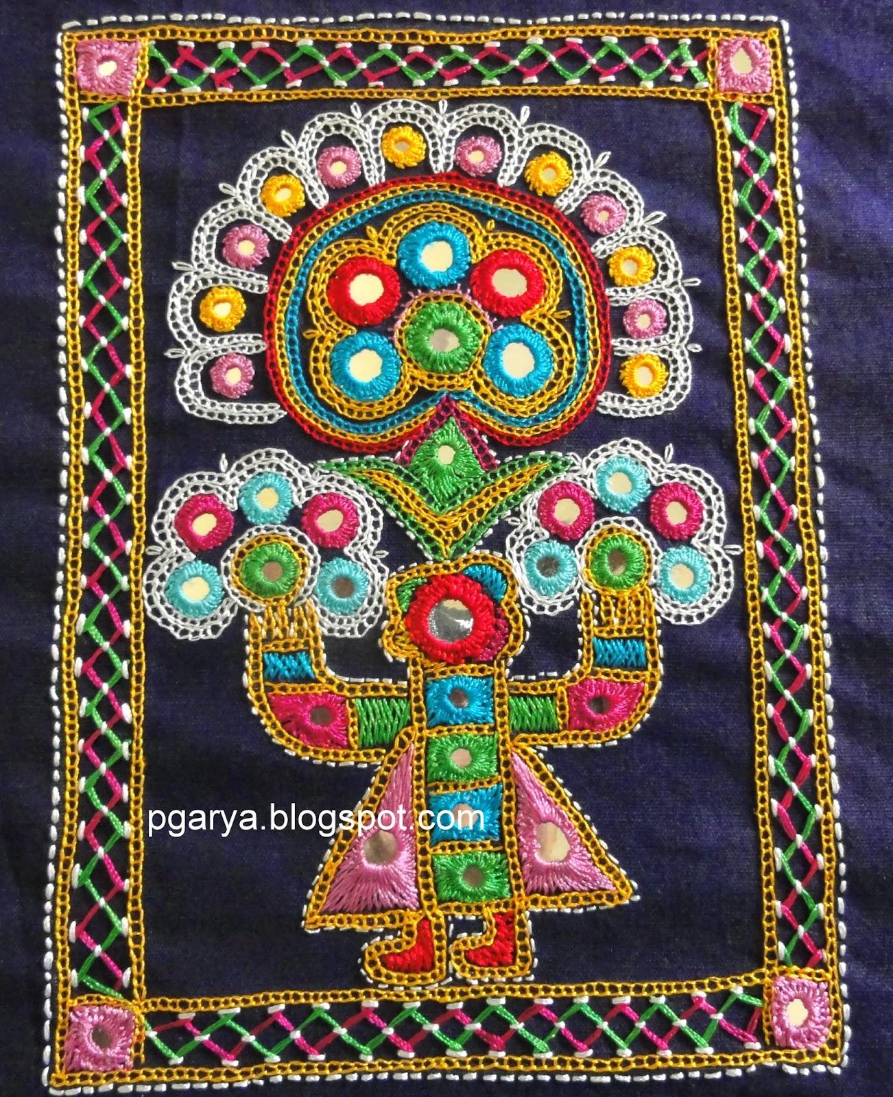 Ahir embroidery of kutch gujarat
