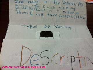 2 types of descriptive essays