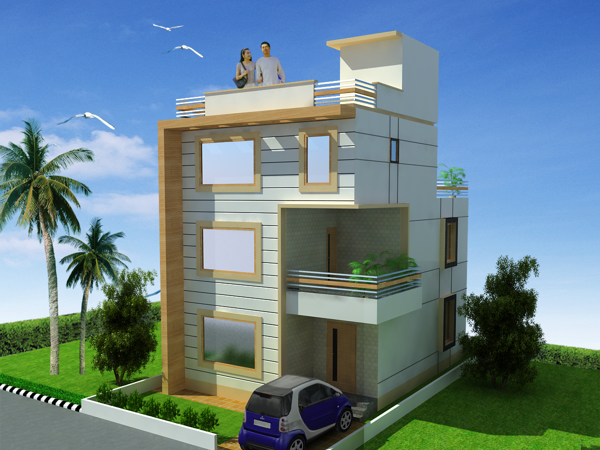house design two floor triplex house design 3