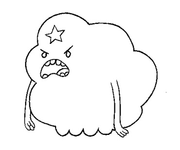 11 Lumpi Space Princess Coloring Page Lumpy Space Princess Coloring Pages Printable