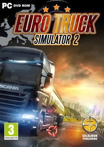 Euro Truck Simulator 2 v1.9.10s Incl. 3DLCs +Cracked-3DM