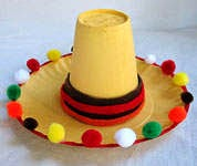 http://cinco-de-mayo.holidayscentral.com/kids-and-crafts/make-mini-sombrero-cinco-de-mayo#.U2OPY1ddb0o