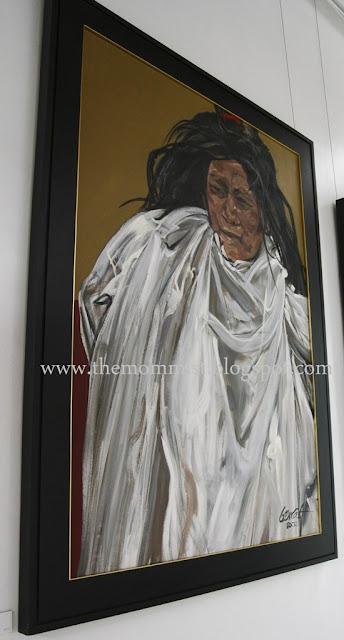 Sabel painting by Bencab