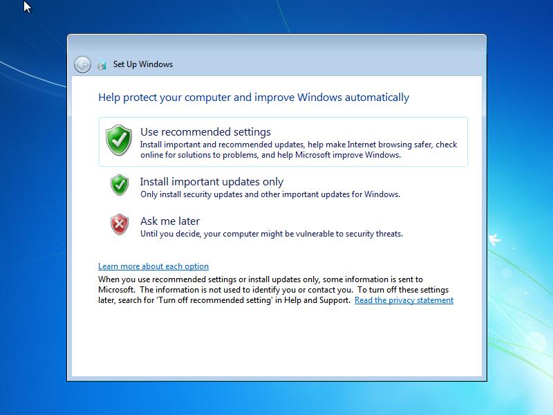 last update windows 7 ultimate