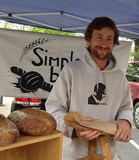 homemade tastes better on handmade, homemade, handmade, pottery, eat local, matt clark, spring brunch, simple bread, asheville