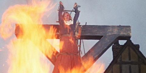 Heksebrænding (fra filmen Witchfinder General, 1968)