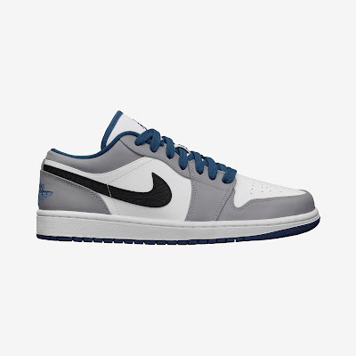 Air Jordan 1 Low Men's Shoe # 553558-103