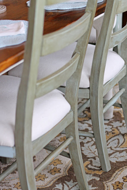 Annie Sloan Chalk Paint Kitchen Chairs