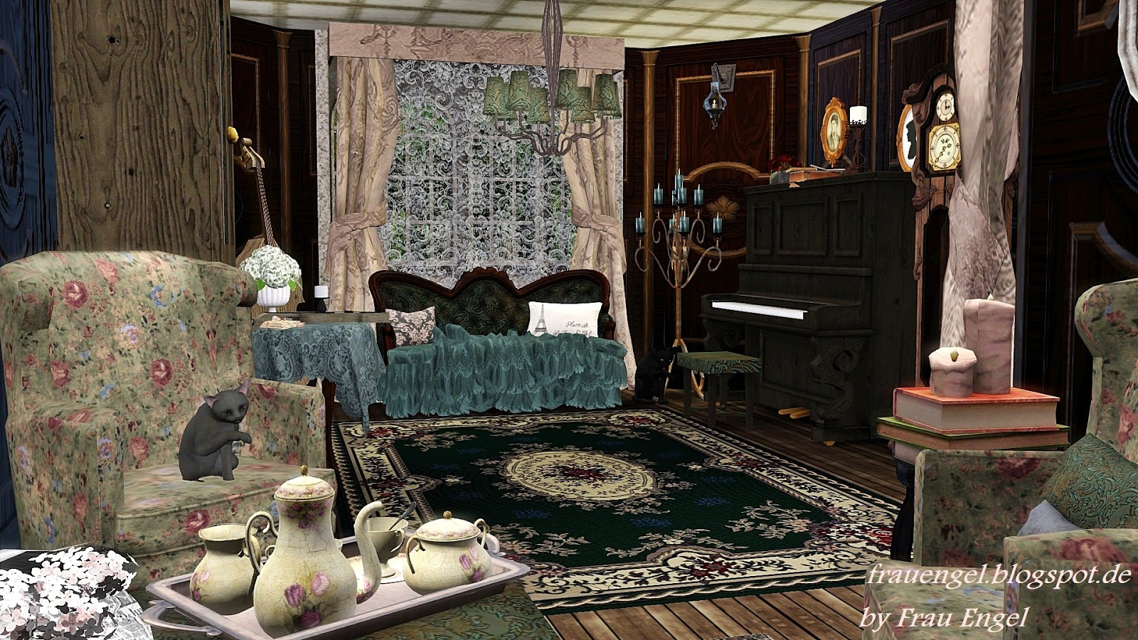My Sims 3 Blog Witch House By Julia Engel