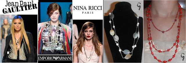 Trends Europe Brujaness Brujaness's Whorkshop long necklace sterling silver gil