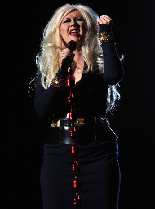 Christina Aguilera Weight