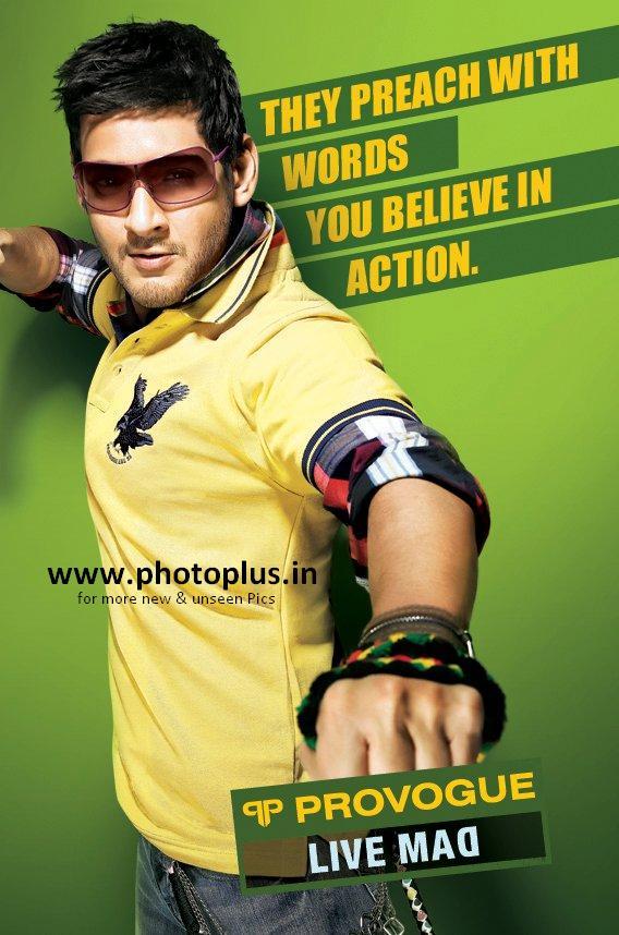 Mahesh Babu Provogue Wallpapers Mahesh Babu Provogue ad Live