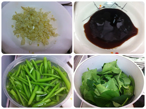 Kangkong With Oyster Sauce Recipe
