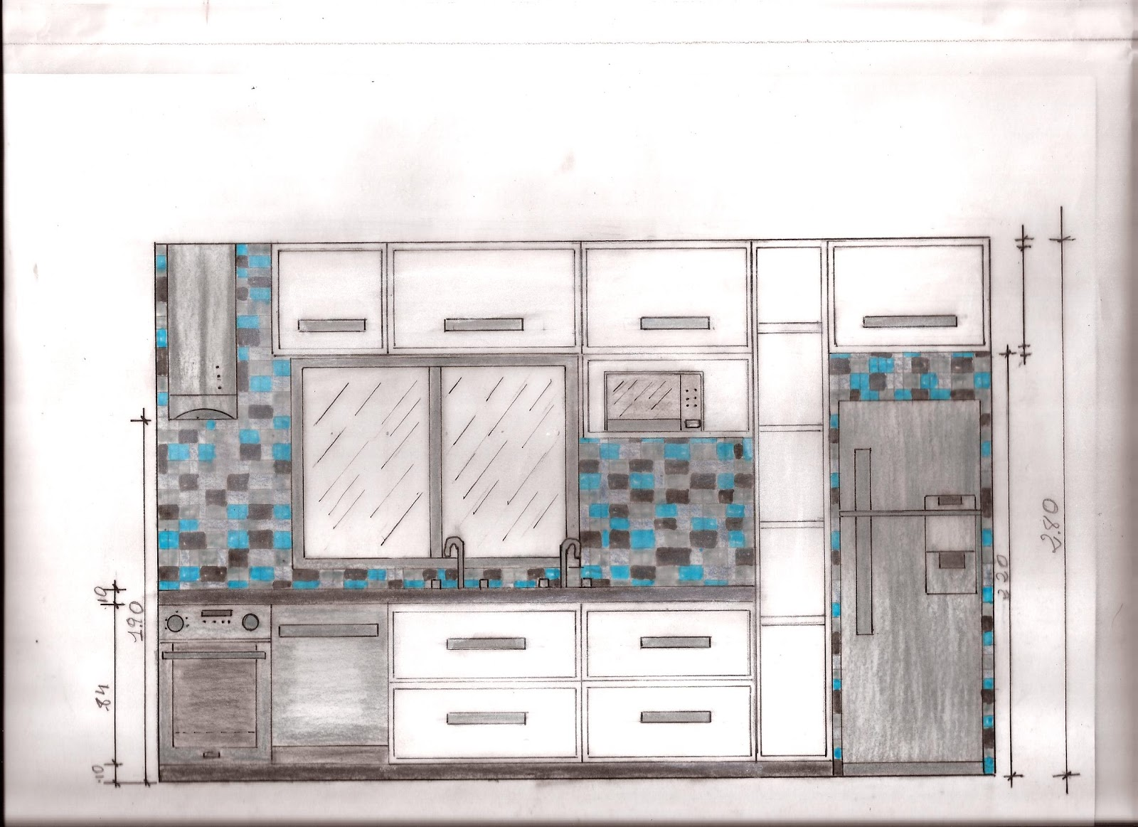 #348197 Related Pictures Projetos Casas Duplex Tis Ptax Dyndns Jongose Ninja 1600x1163 px Bancada Cozinha Americana Inox #1275 imagens