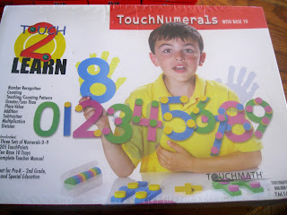 numbers with touch points and base 10