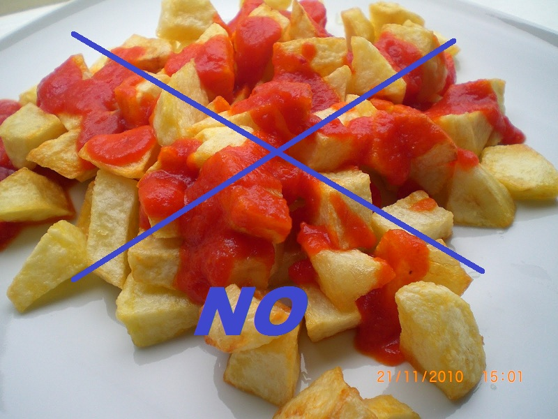 Cocinar Patatas Bravas   Aqui Esperando Por Ti Patatas Bravas Solo Hay Una Receta Y A Ti