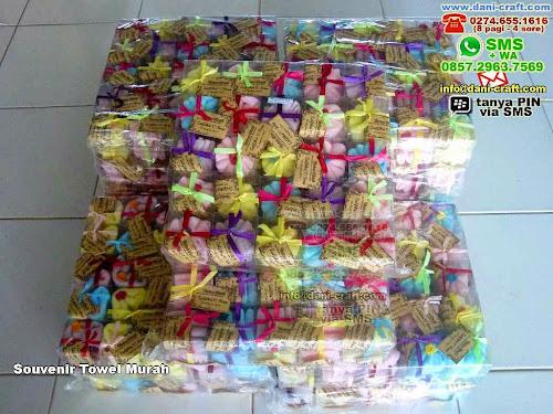 Souvenir Towel Murah Handuk Papua