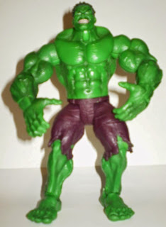 Front of 2003 movie Hulk action figure