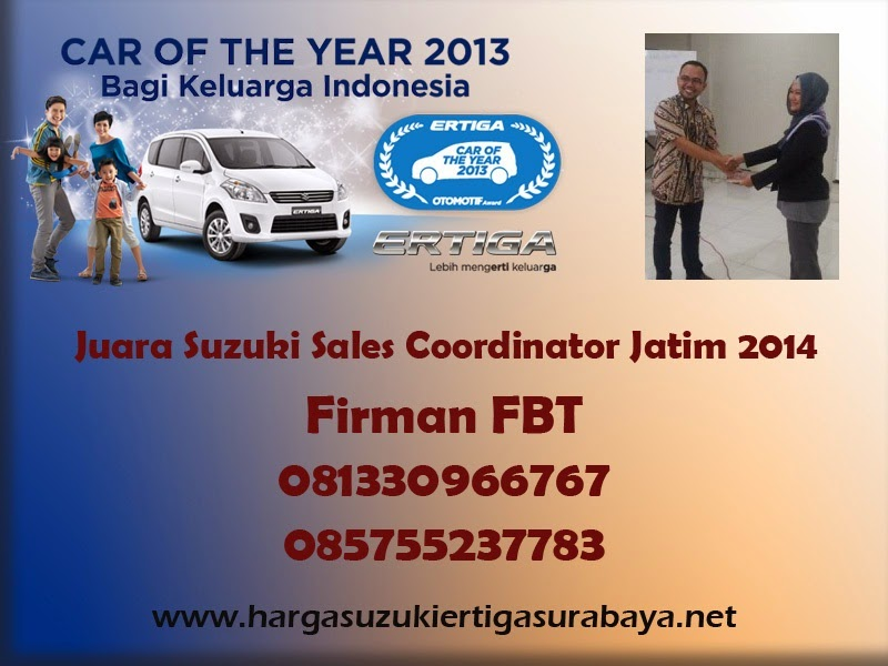 Harga OTR Suzuki Ertiga UMC Dan SBT Surabaya Sidoarjo Bangkalan Pamekasan Telepon Firman FBT 085755237783