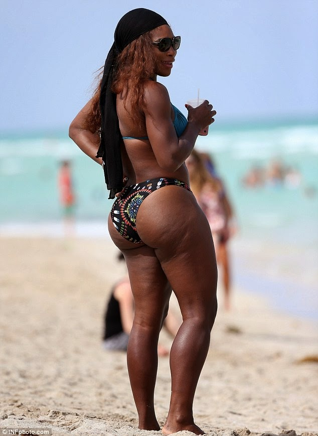 Serena Williams Flaunts Her Curves In Sexy Bikini – Photos