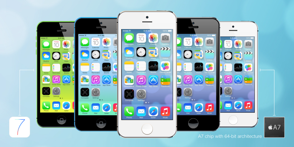 apple announces iphone 5c iphone 5s
