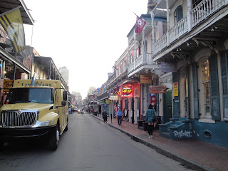 Picturesque French Quarter.