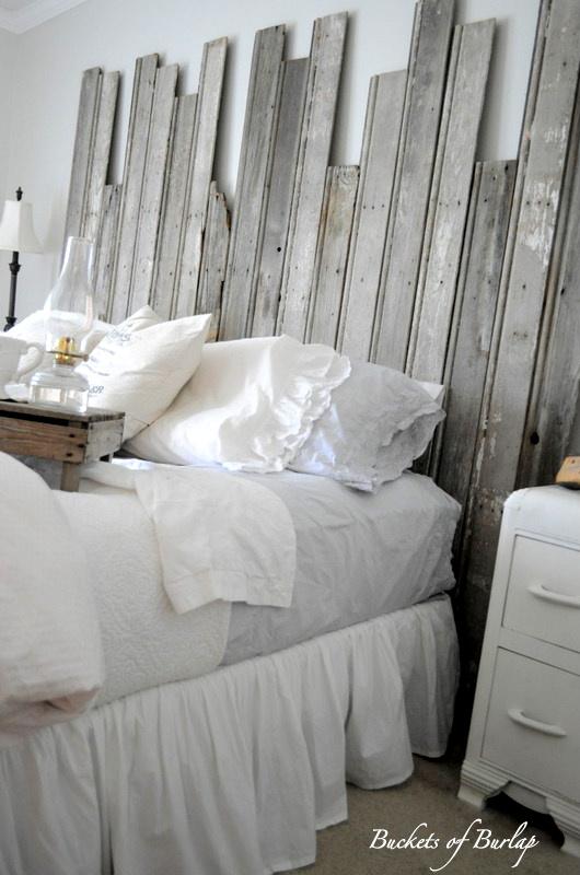 Remodelaholic Master Bedroom With Diy Rustic Barn Wood