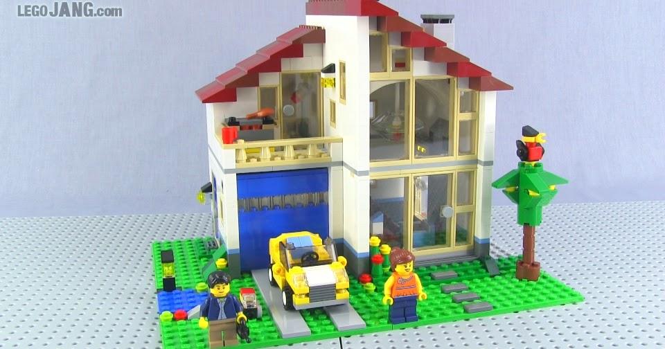 Lego creator tree house 31010 family house 31012 videos for House creator