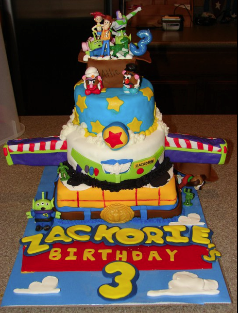 Toy Story Cakes For Boys : Be different act normal toy story birthday cakes