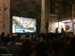 book signing, alex honnold, climbing, slideshow presentation
