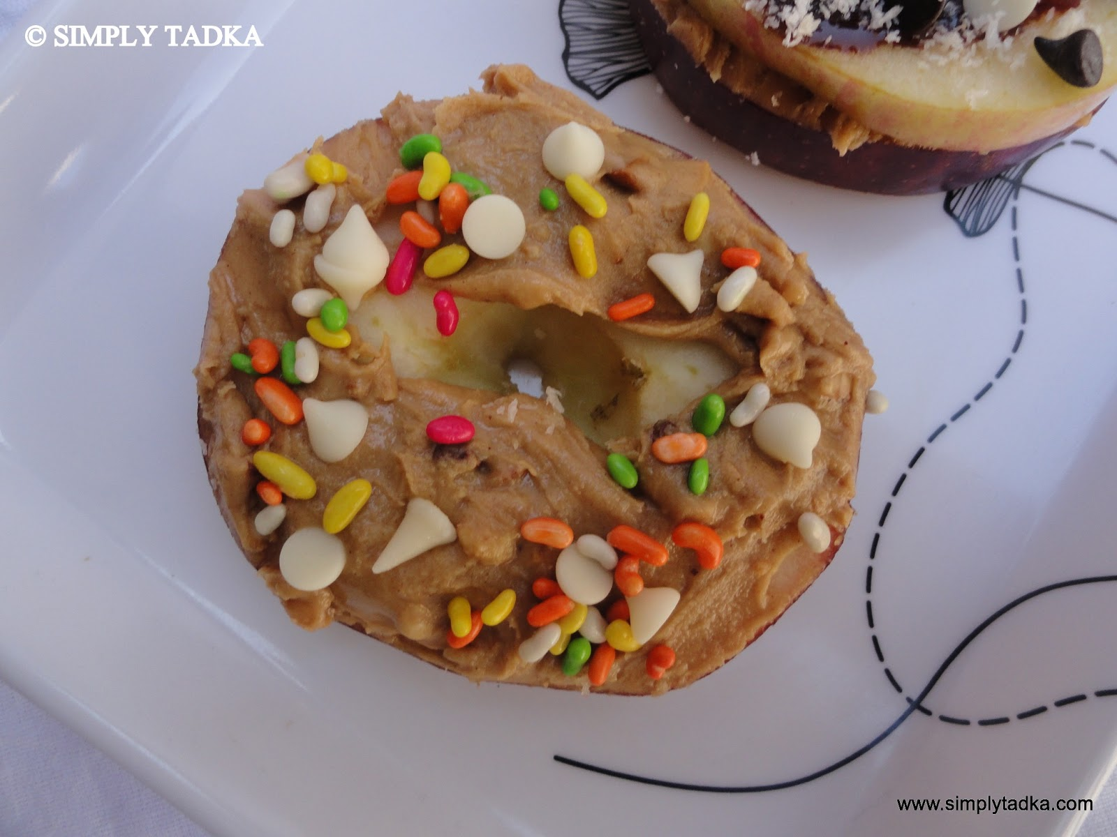 Apple Peanut Butter Sandwich ~ Simply TADKA