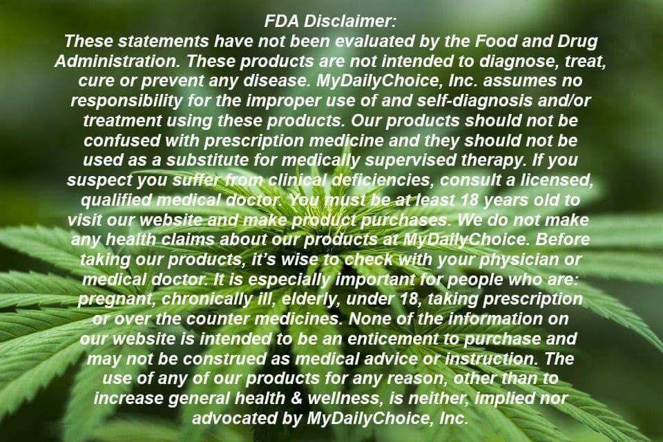 FDA DISCLAIMER