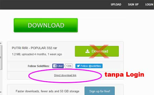 link download TANPA LOGIN AKUN