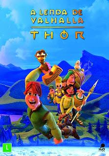 A Lenda de Valhalla: Thor - DVDRip Dublado
